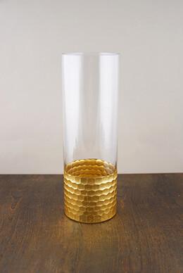 Elsa Glass Floral Vase 12x4