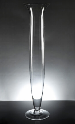 Da Vinci 27 Inch Trumpet Vases