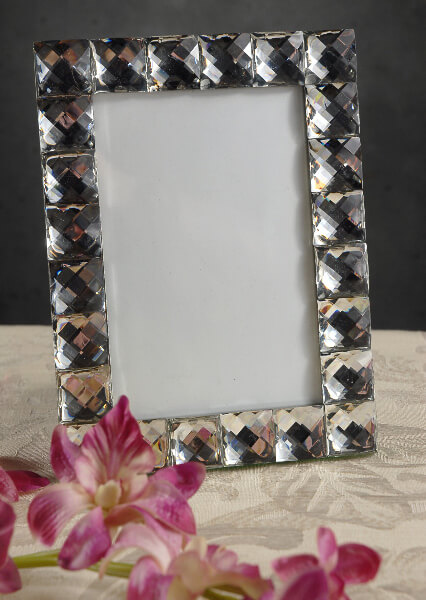 Diamond 4x6 Table Number Picture Frame