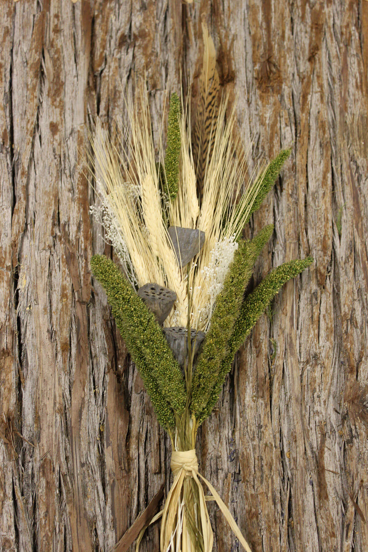 Dried Millet Amp Wheat Bouquet 24in