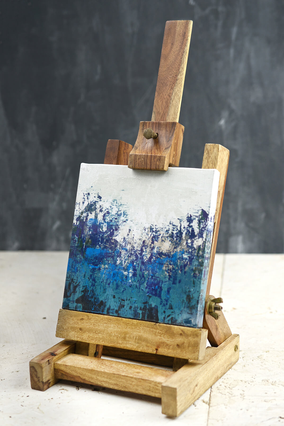 Tabletop Natural Wood Artist Easel 16in