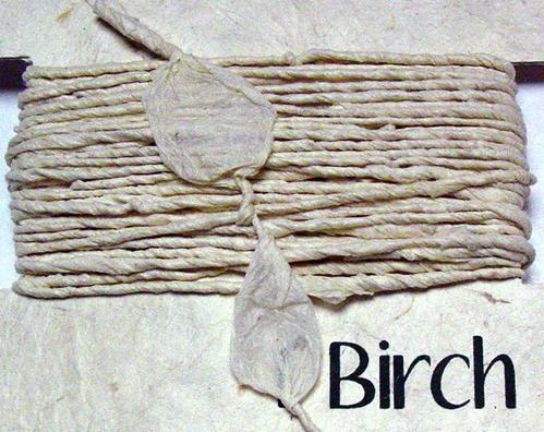 Eco Twist Ribbon Birch 8yds