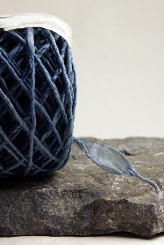 Eco Twist Ribbon - Spruce Blue  8 Yards