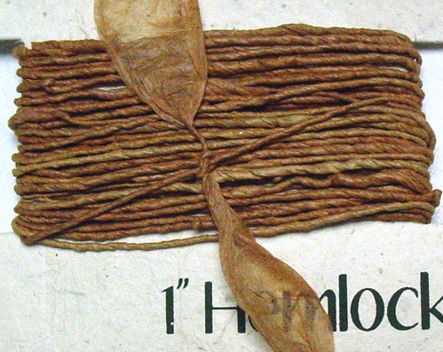 Eco Twist Ribbon Hemlock Brown 8yds