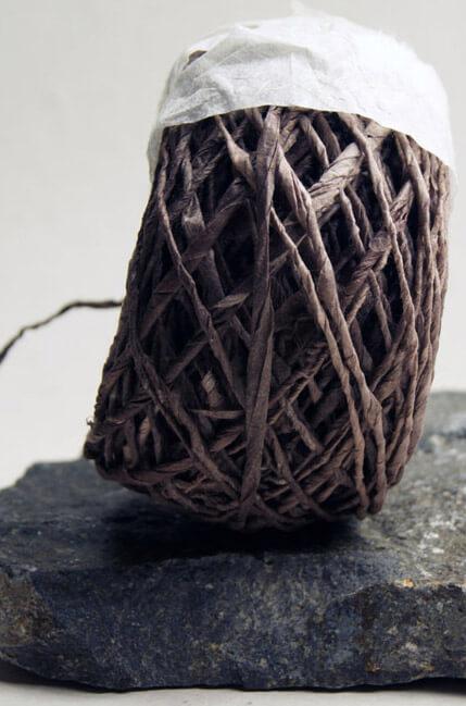 Eco Twist  Ribbon Sequoia Brown 8yds