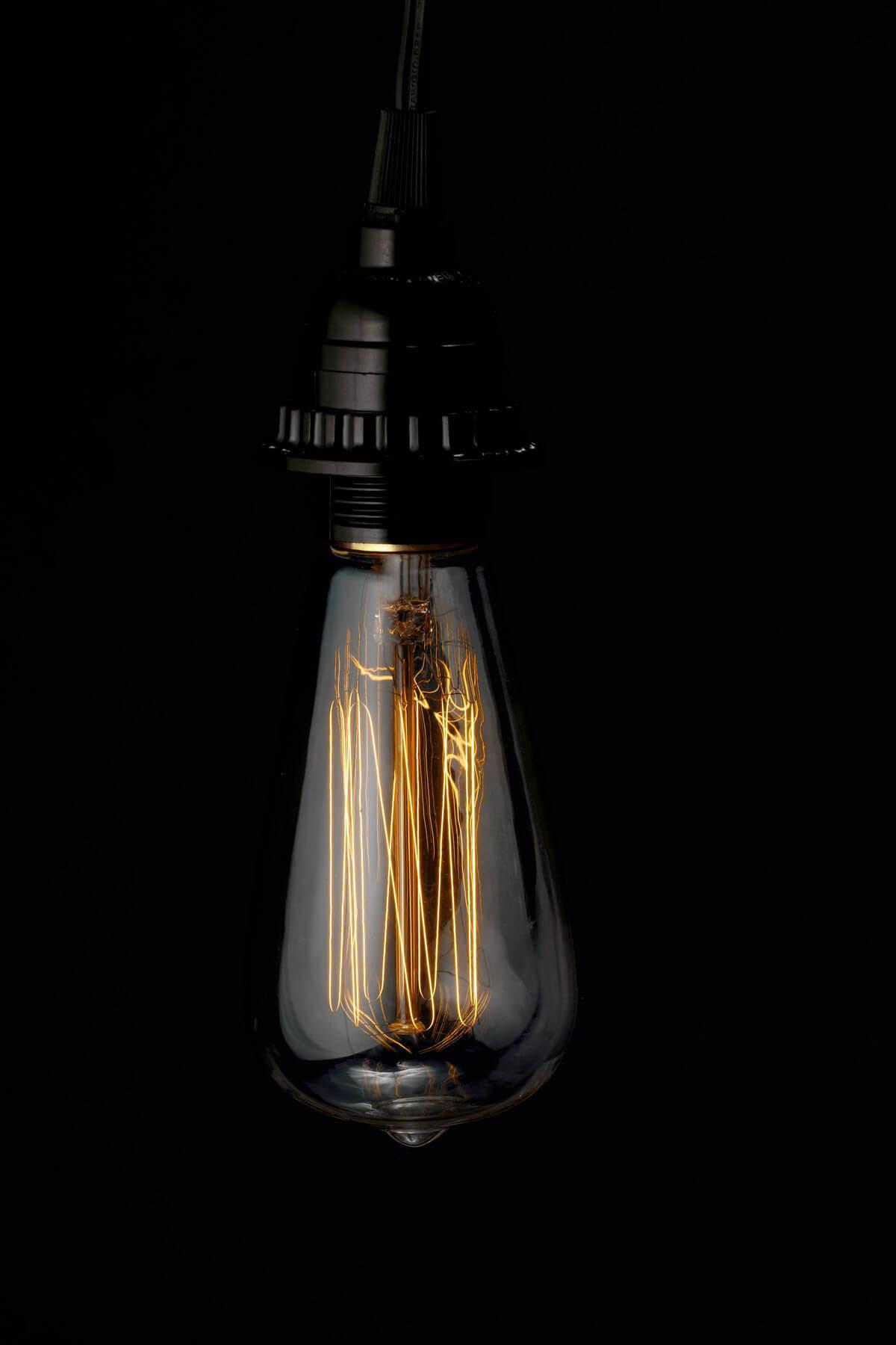 s20 edison light bulb 40w