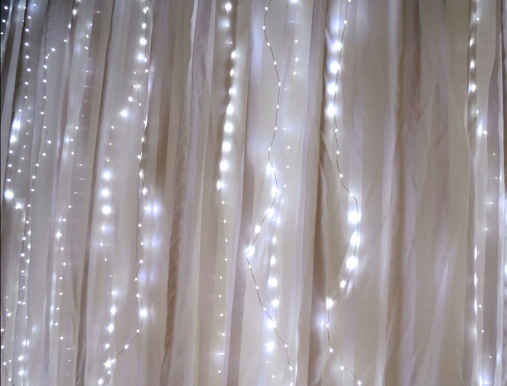 fairy light curtain lights 70 led 80 length battery. Black Bedroom Furniture Sets. Home Design Ideas
