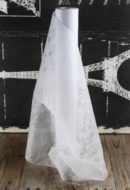 """White Filato Paper Table Runner Roll   20"""" x 66 FT"""