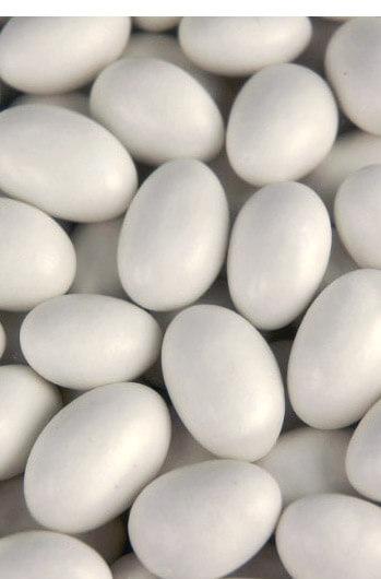 Super Fine 5lbs Roasted White Shell Jordan Almonds  Kosher