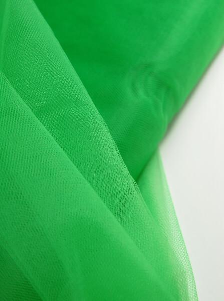 "54"" Emerald Green Fine Tulle Bolt  40yds"