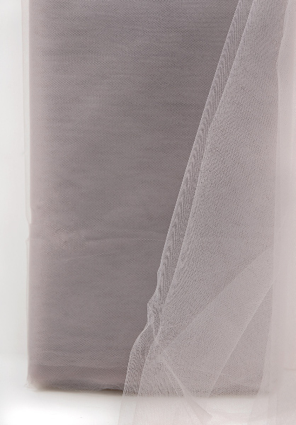 Fine Tulle Bolt Silver Taupe 54 Quot Wide 40 Yards