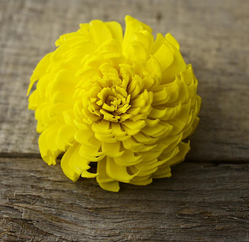 Sola Flowers Yellow Chorki Flowers (12 flowers)