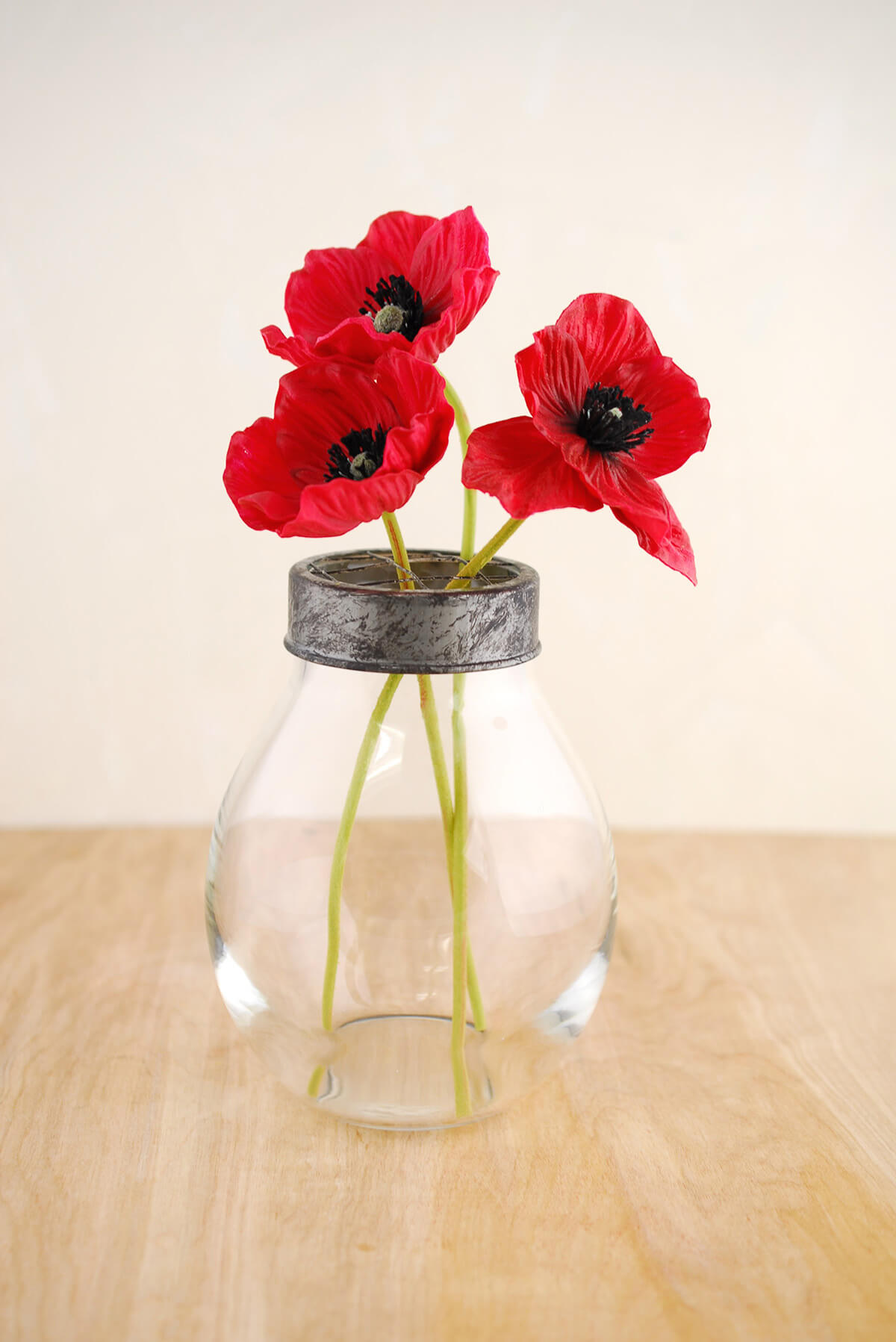 Diy Home Decors Flower Vase With Frog Lid 6 5x4 5in