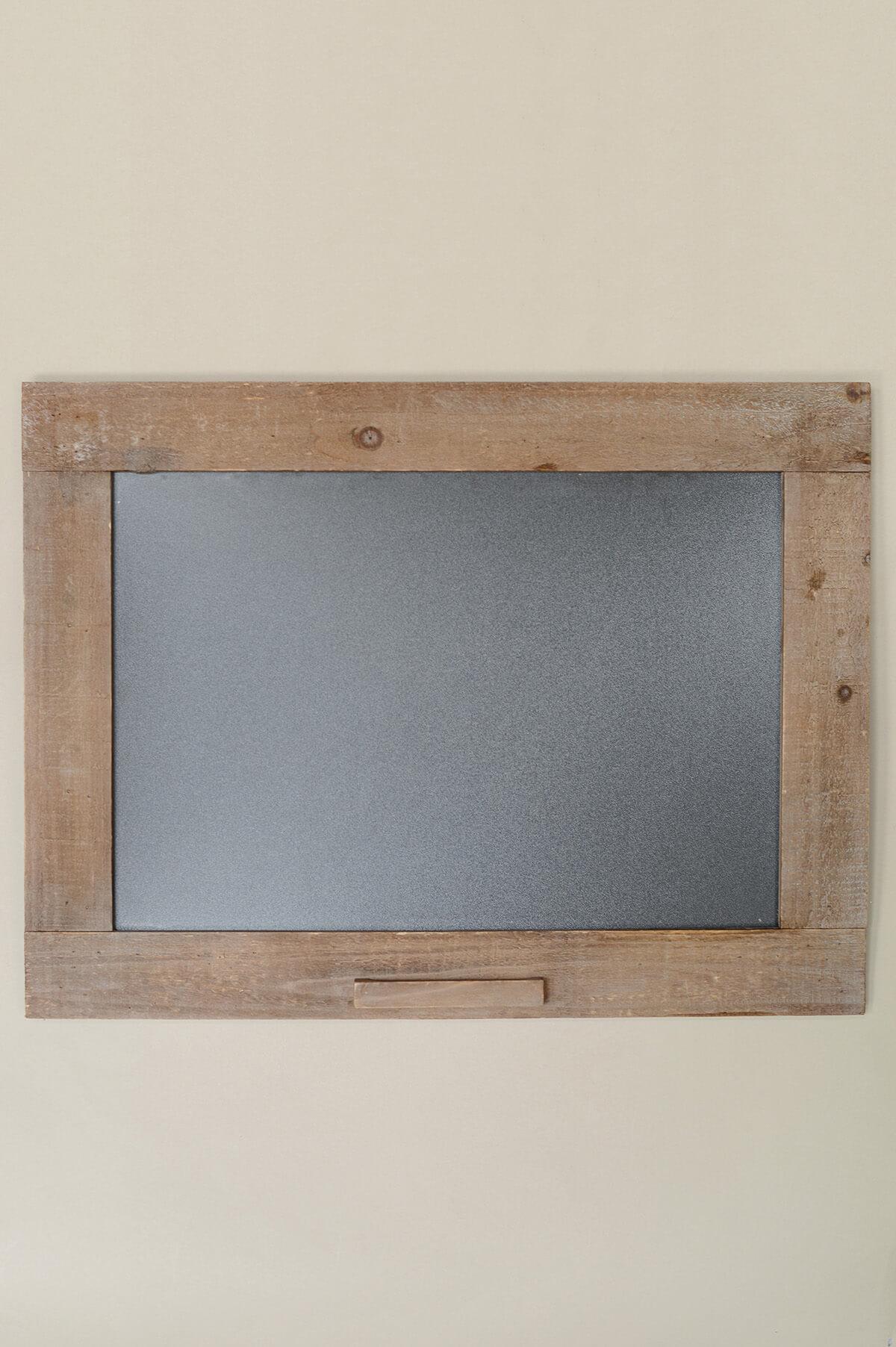 Framed Wooden Blackboard 24\