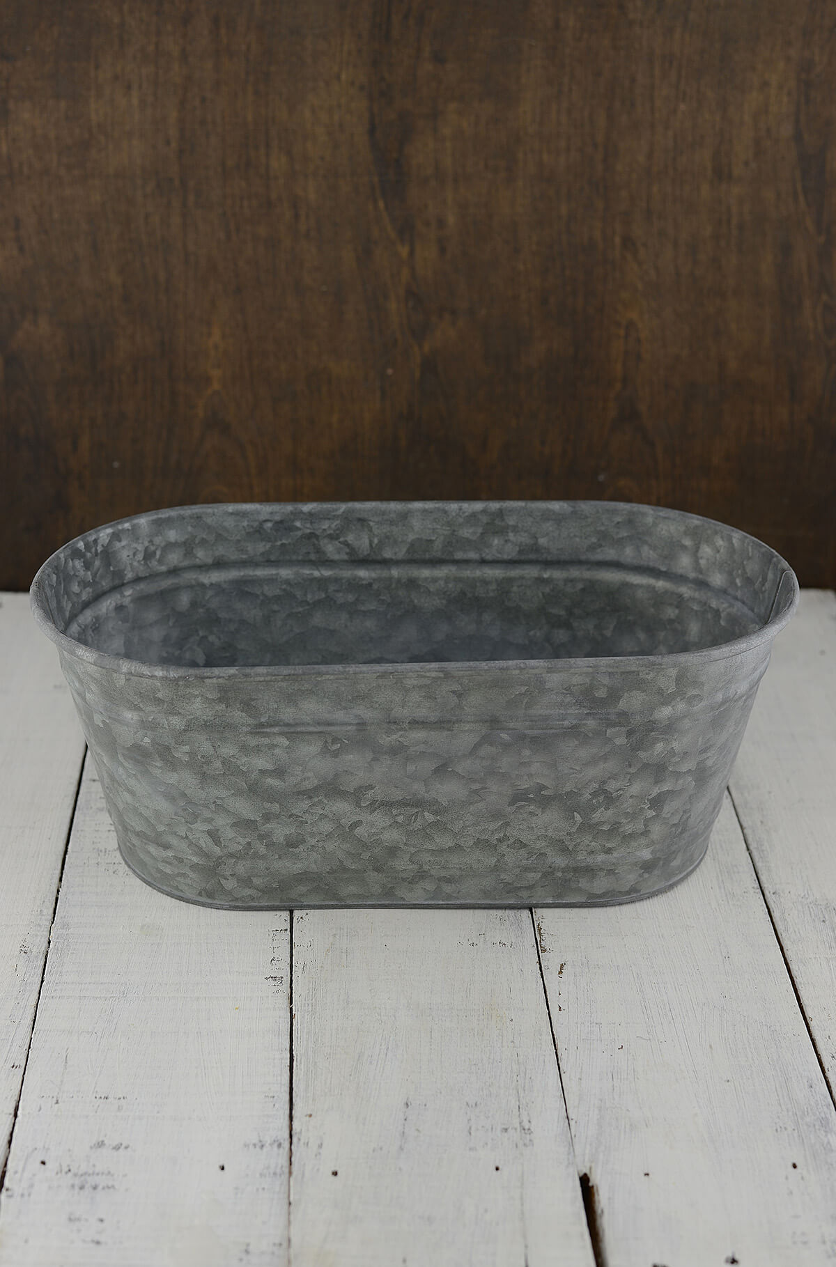Galvanized Bucket Oval 12 5in