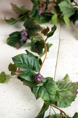 Grape Leaf Garlands 6'