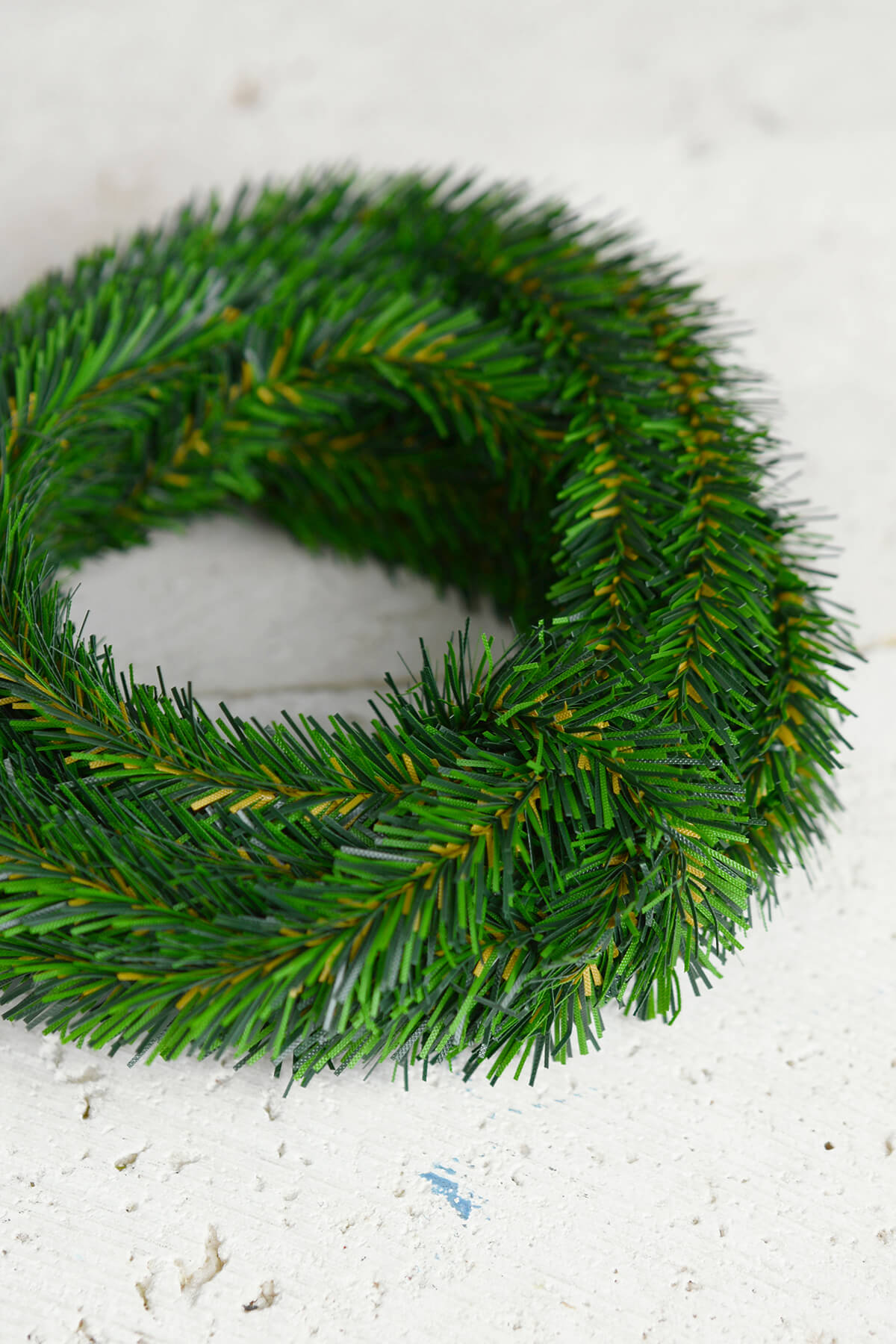 12 Miniature Pine Garlands, Pine Roping, Wired