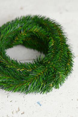 12 Miniature Pine Garlands, Pine Roping, Wired
