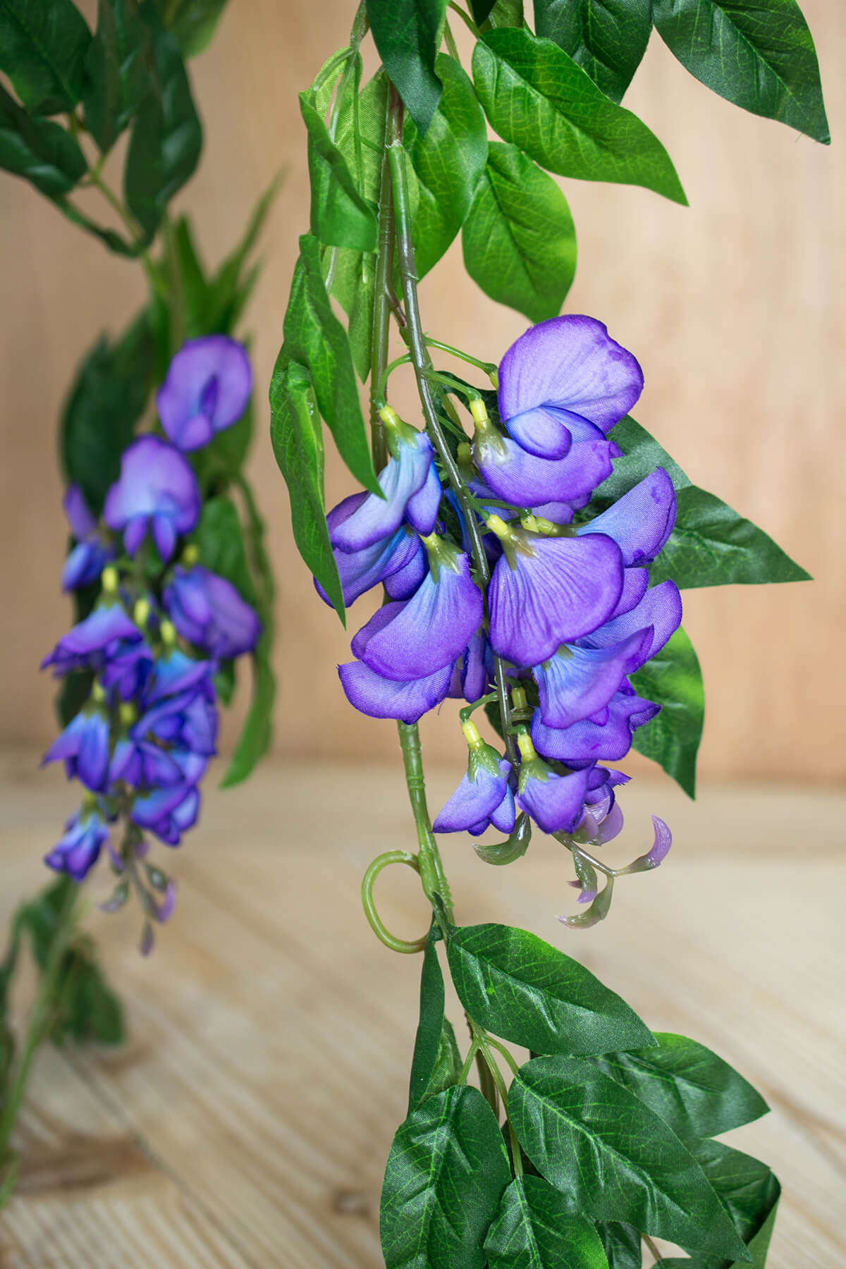 Wisteria Garlands  6ft Violet and Blue