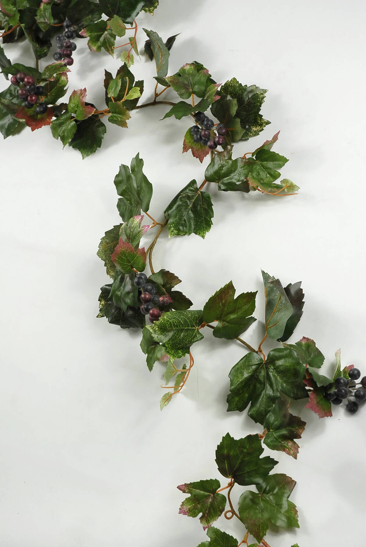 6' Artificial Grape Leaf Garlands