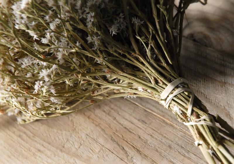 """Dried German Statice Flowers 13 x 8"""""""