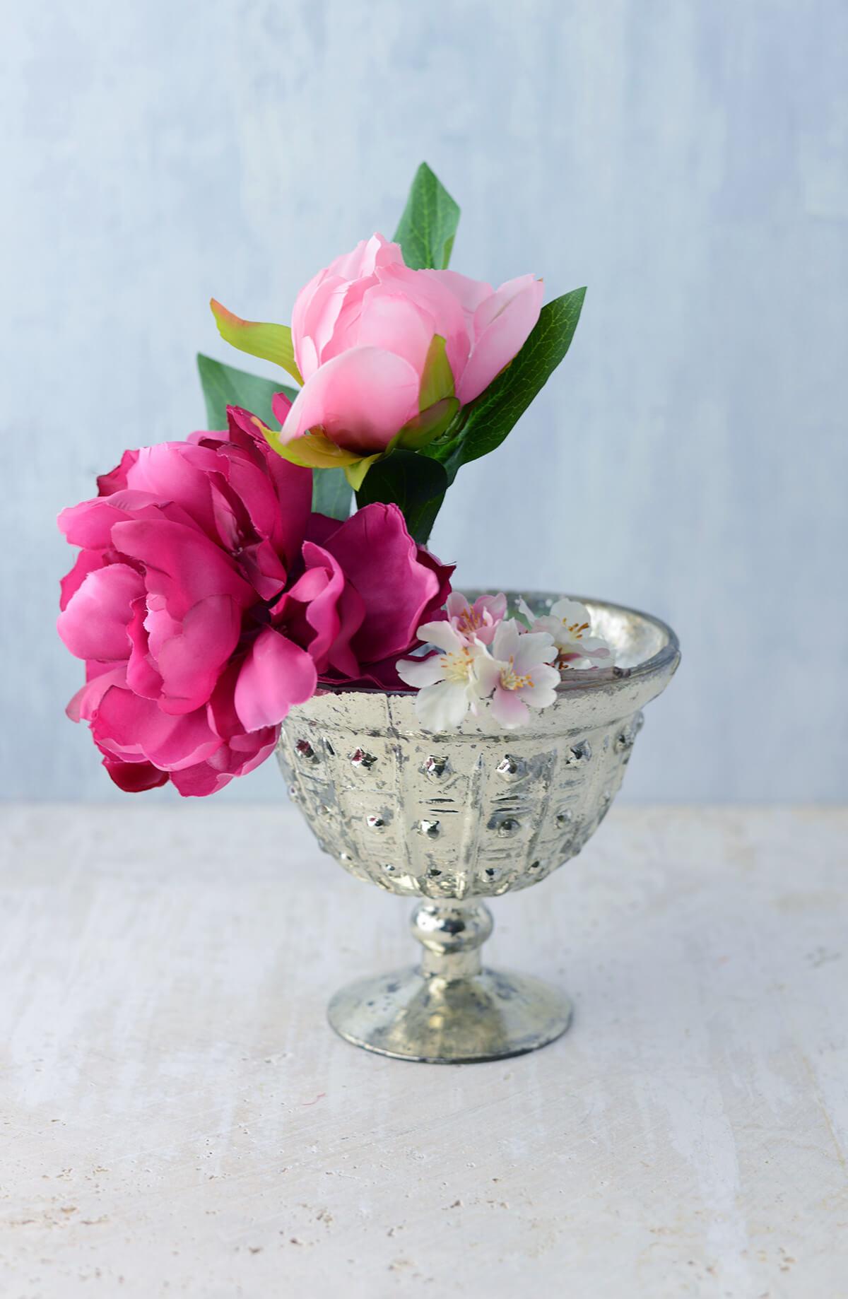 Glass Baleri Compote Bowl 6'' x 5''