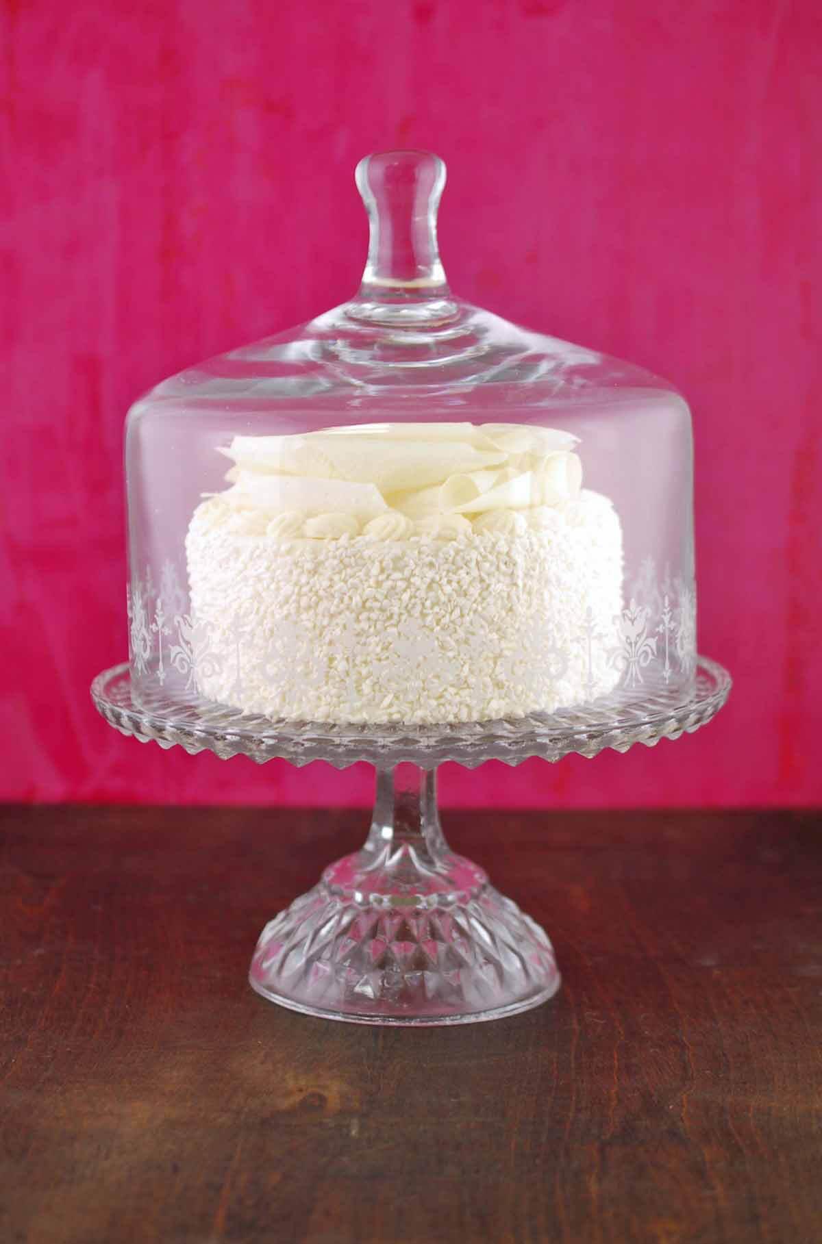 Glass Pedestal Vintage Cake Stand Set 11x9