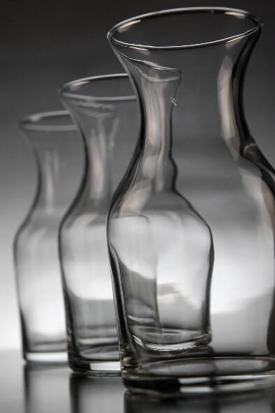 Glass Carafe Decanters 6 Ounce