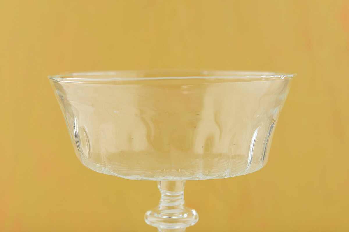 Glass Compote 5.25 x 6.25in