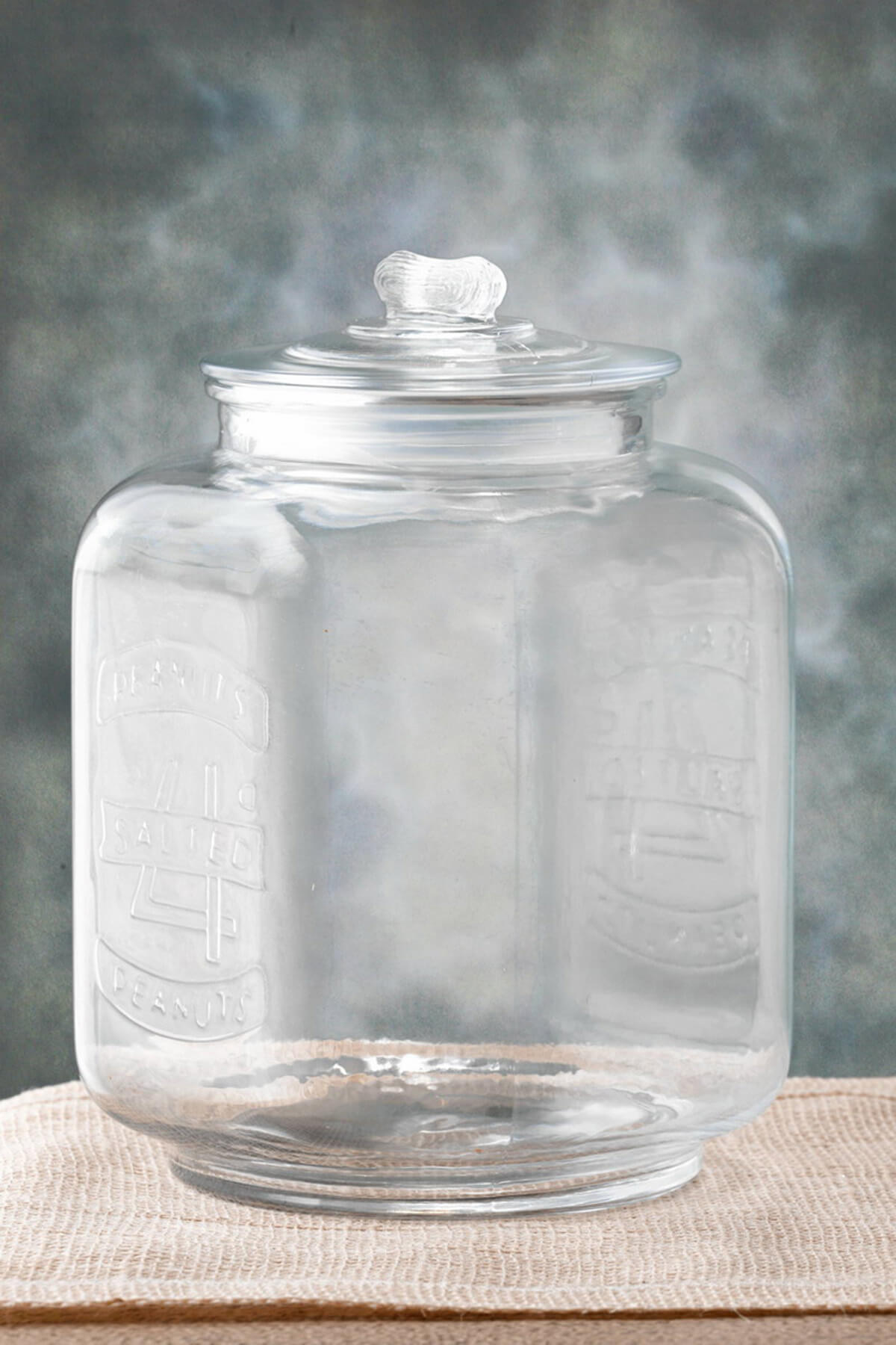 Glass Cookie Jar 7 X 10in