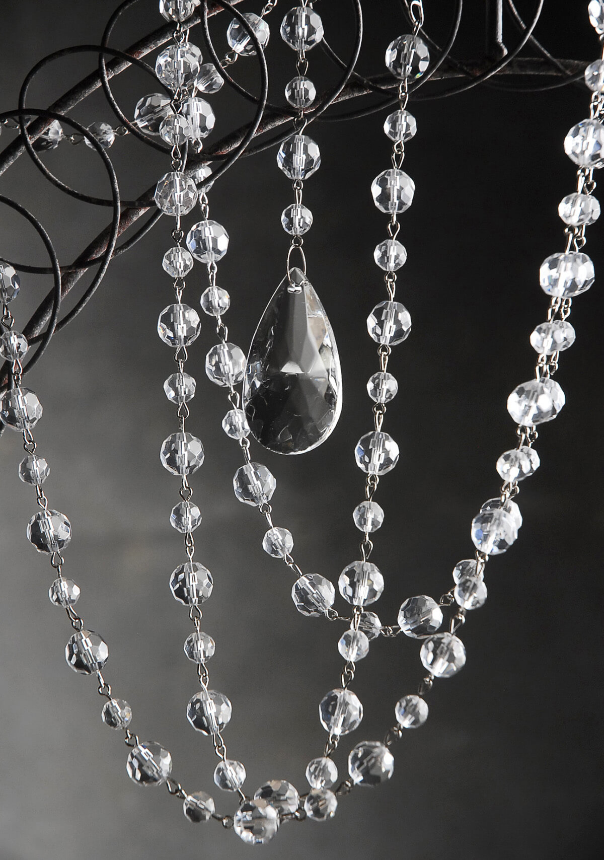 Crystal Garlands Glass