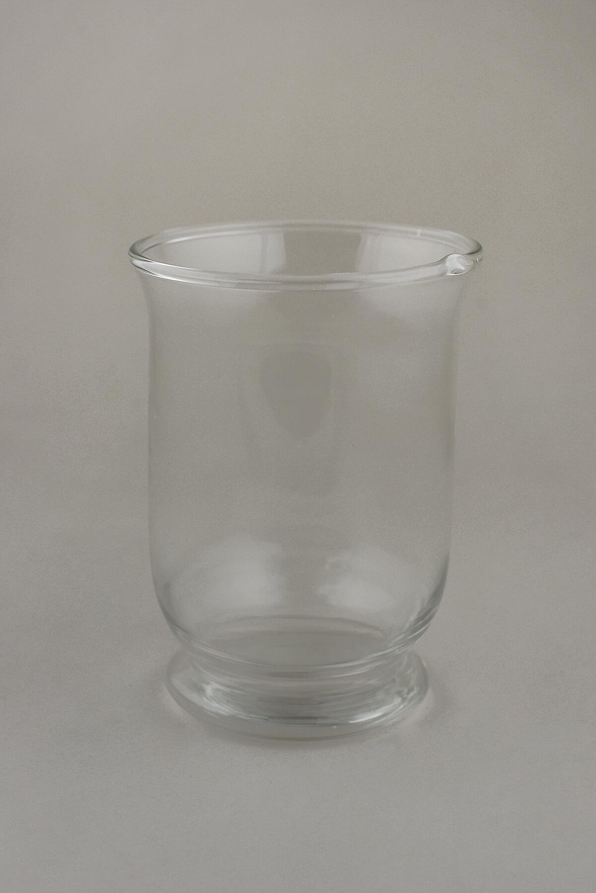 Glass Hurricane Vase Amp Candleholder
