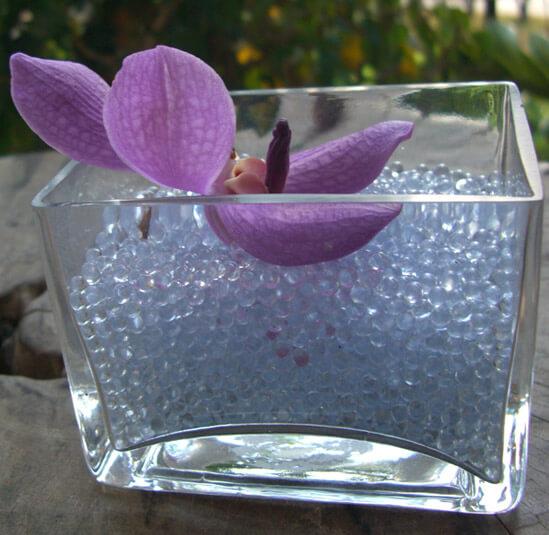 Vase glass filler mm beads for centerpieces makeup