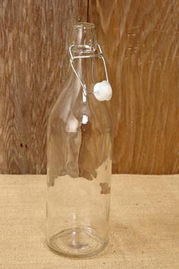 12 Swing Top Flip Cap Bottles 10.5in