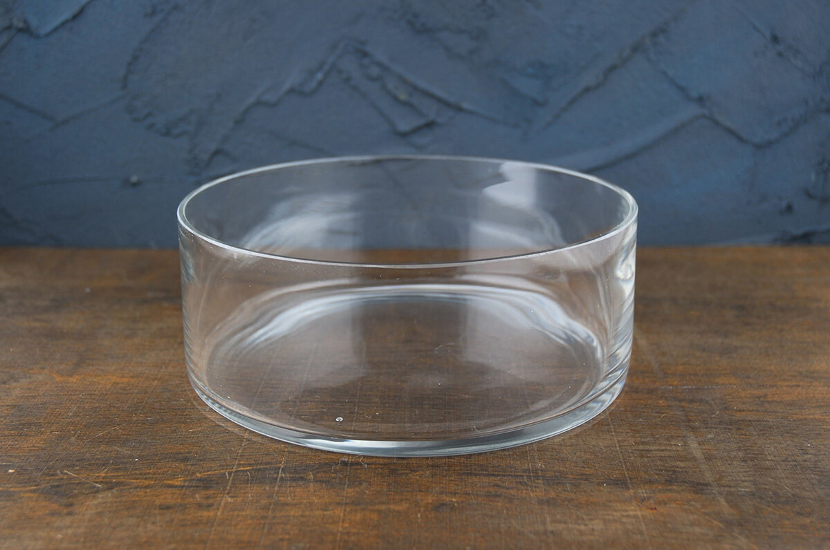 Clear Glass Round Terrarium Dish 8 Quot