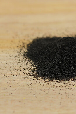 Glitter Glass Black .2-.3mm 1lb