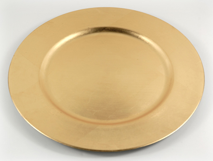 ... 12 Gold Leaf Acrylic Charger Plates 13in ... & Gold Charger Plates|20-60% Off|SaveOnCrafts