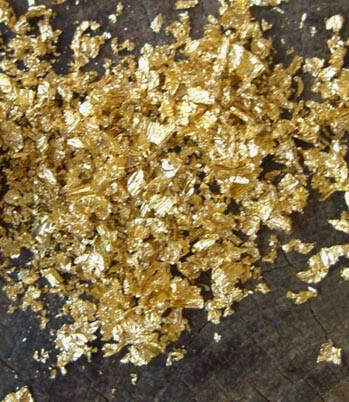 Mica Flakes Gold .1oz