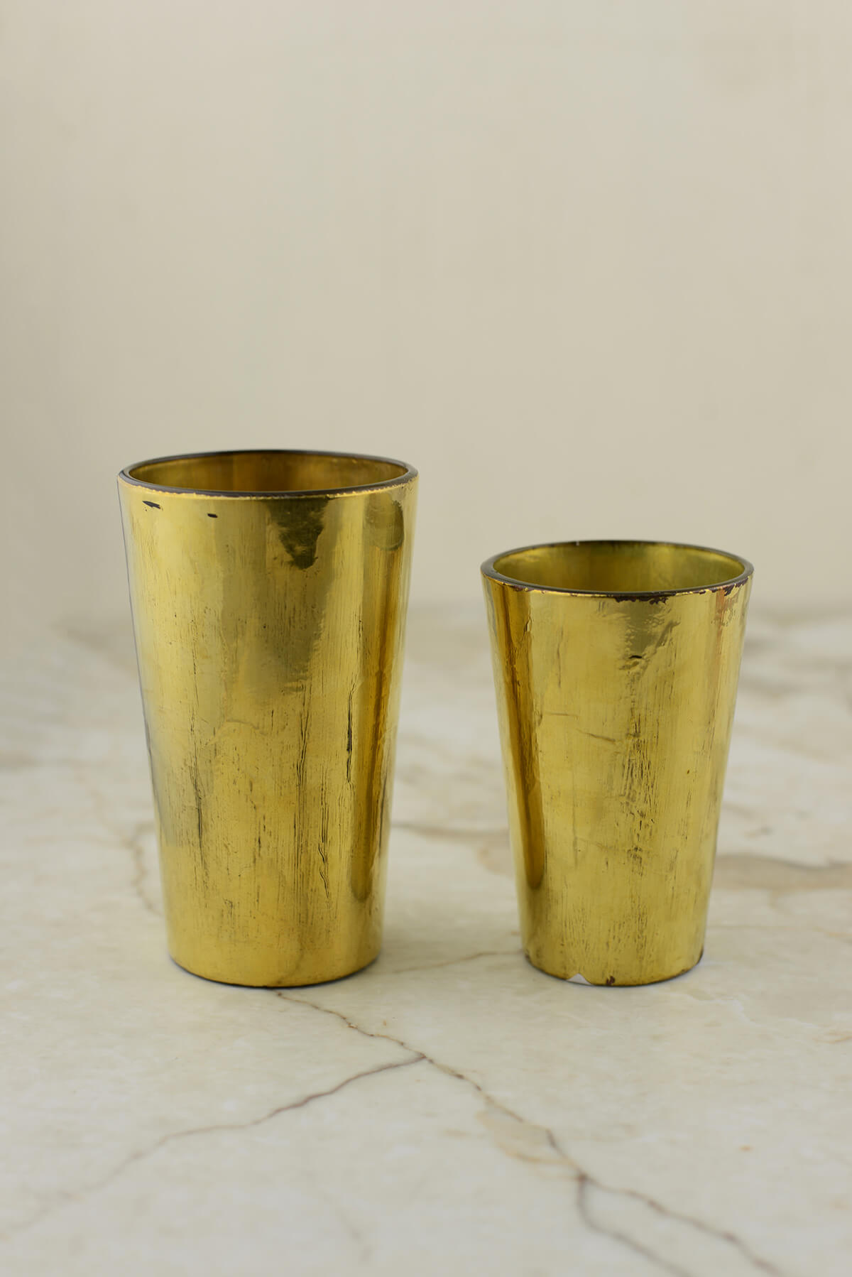 Vivi Gold Votive & Vase 2.5x4in