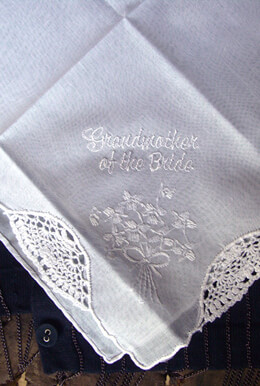 Wedding Handkerchiefs GRANDMOTHER OF THE BRIDE