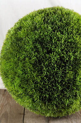 Large Faux Grass Balls 15in