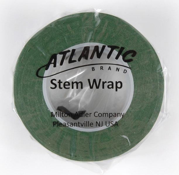 Green Floral Stem Wrap Tape Atlantic Brand 1/2in x 30yds (Pack of 2)