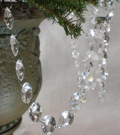 Crystal Garlands 6 Feet