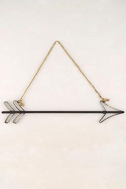 Hanging Metal Arrow 20in