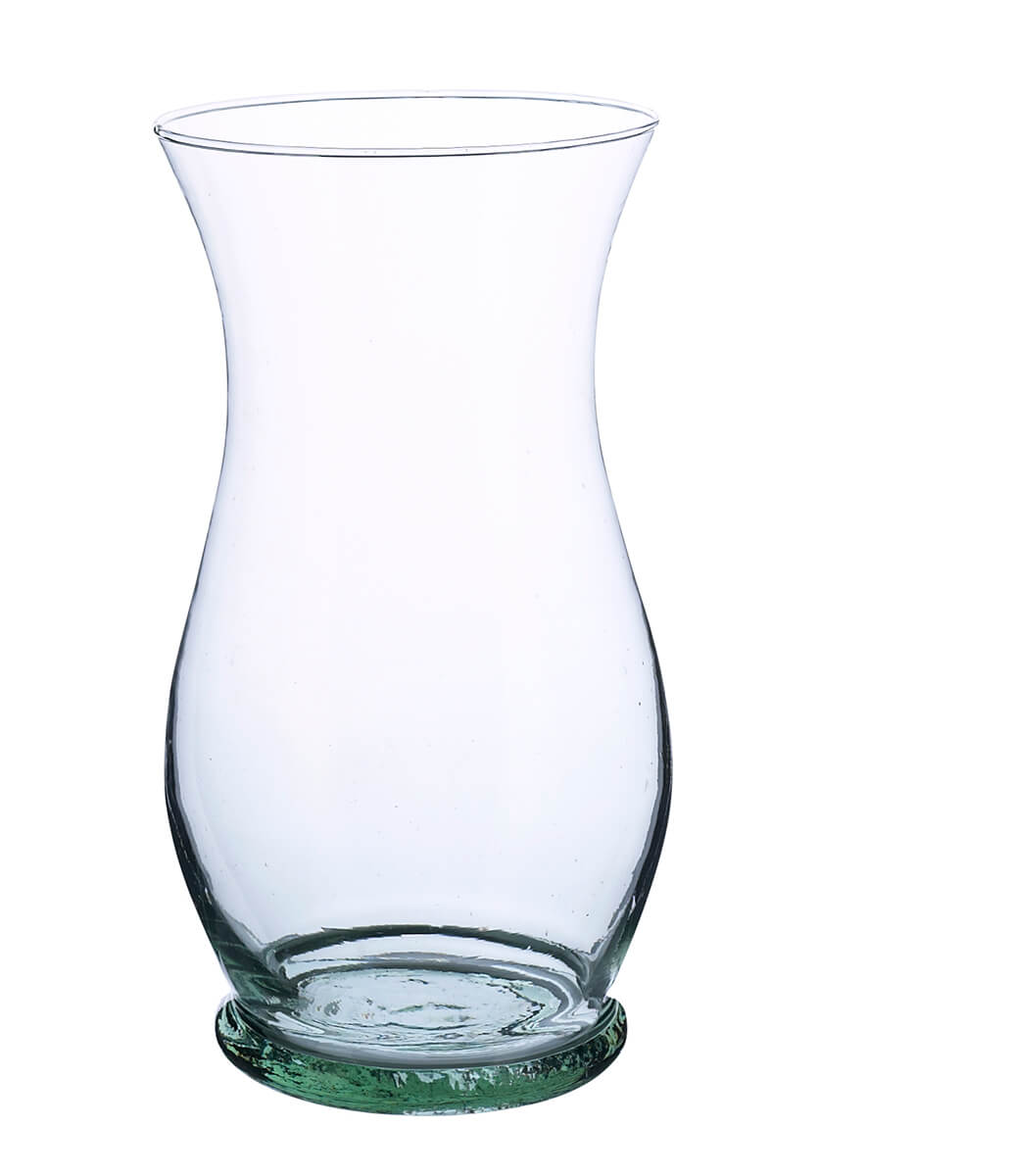 florist clear glass vases 10in gala urn vase. Black Bedroom Furniture Sets. Home Design Ideas