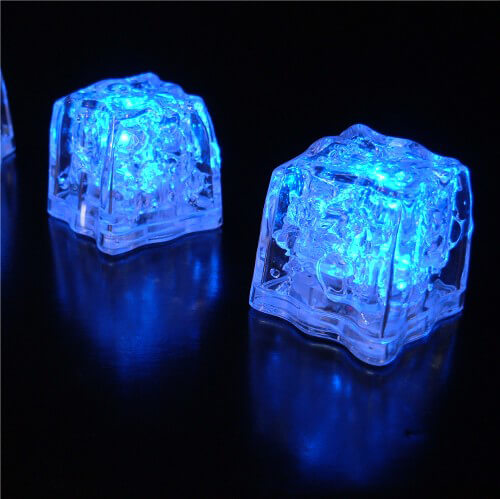 8 Blue Submerisibe Led Ice Cubes Premium 1 5 Quot
