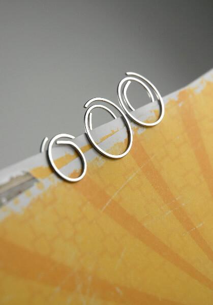 Italian Clipiolas, Cavallini & Co.Round Paper Clips (125 clips)