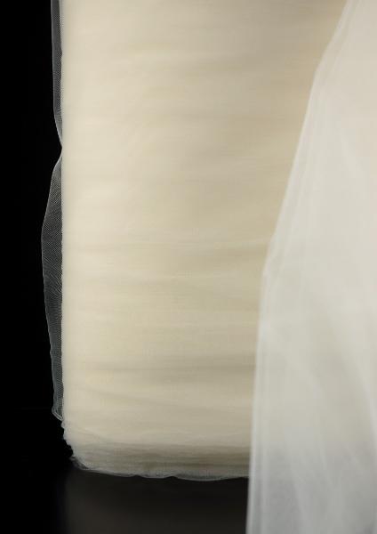 """Ivory Bridal Illusion Tulle   108"""" x 50 yards"""