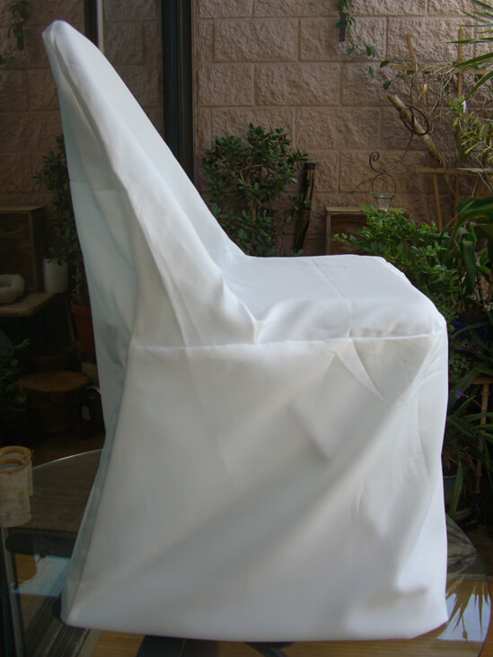 chair covers. ivory folding chair covers pack of 10