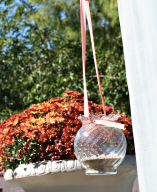6 Glass Ivy Bowls